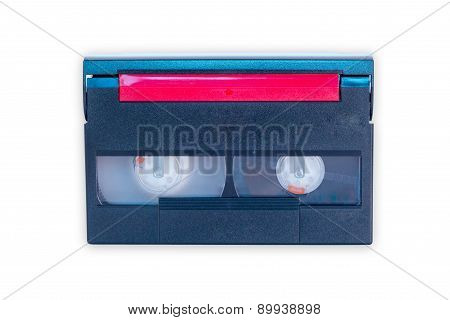 Video Tape - Isolated On White Background