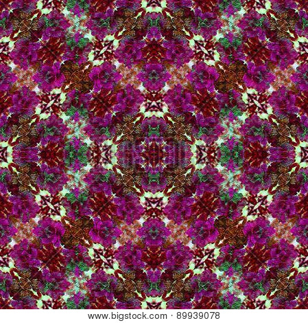 Colorful Vintage Floral Pattern