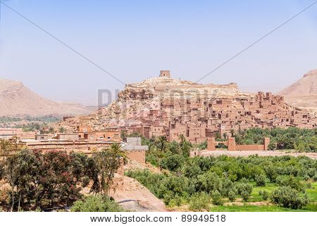 Ait Benhaddou, Morocco: general view
