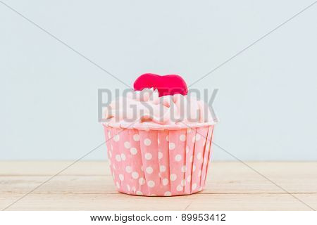 Colorful Of Sweet Cup Cake.