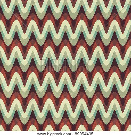 Vintage Zigzag Seamless Pattern