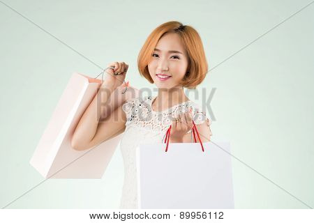 Posing With Paper Bags