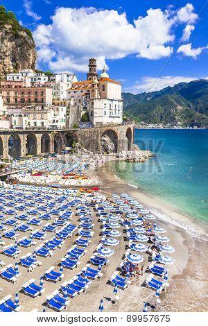italian holidays, scenic Amalfi coast, Atrani village