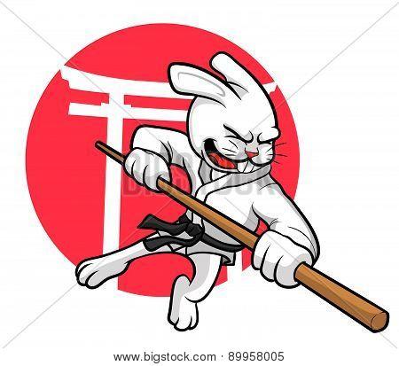 Karate Rabbit