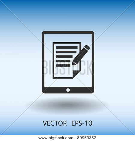 touch pad notes icon