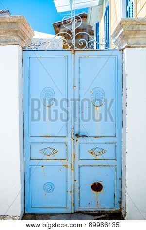 Old coloful door