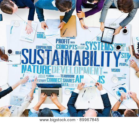 Sustainability Environmental Conservation Ecology Concept