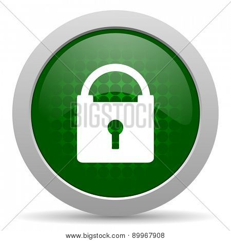 padlock icon secure sign