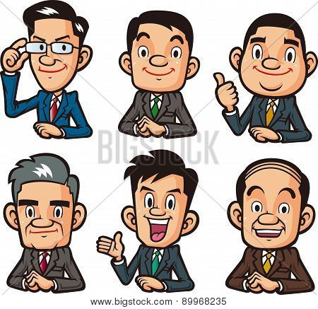 Various businessman