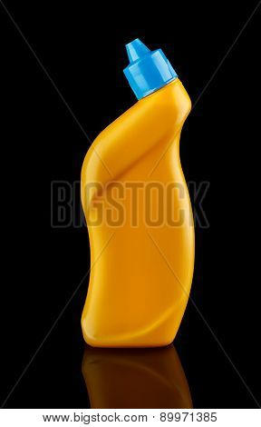 Plastic Bottle With Cleaning Detergent
