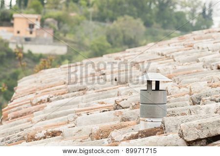 Red Tiled Roof With Cape