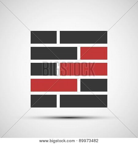 Vector Icons Brickwork