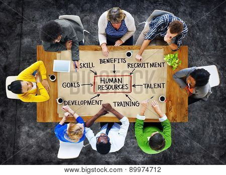 People and Human Resources Concept