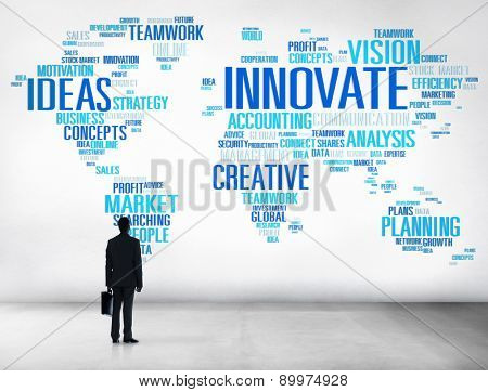 Innovation Inspiration Creativity Ideas Progress Innovate Concept