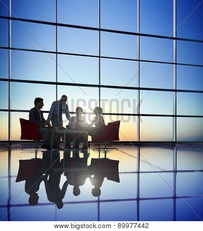 Business People Meeting Brainstorming Team Concept