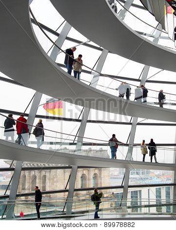 Reichstag Dome Interior