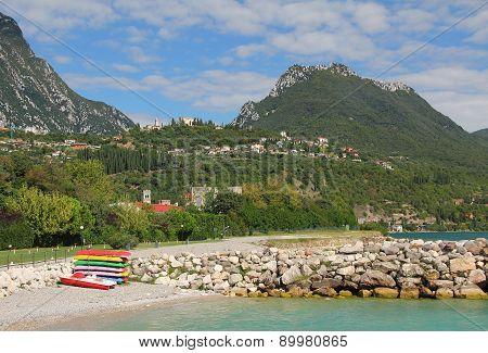 Toscolano Beach, Lake Garda, Italy
