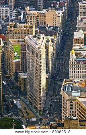 Flatiron In New York