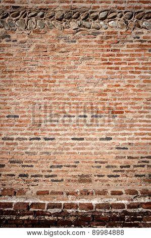 Stone And Brick Wall