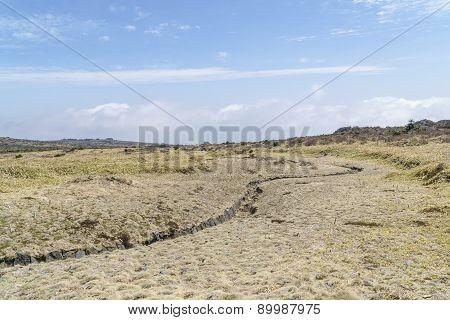 Landscape Of Plateau In Hallasan Moutain