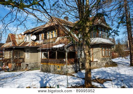 Old Villa In Zakopane, Poland