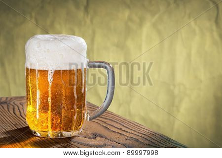 Glass Of Beer, Place For Text