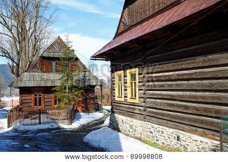 Architectural Nook In The City Of Zakopane, Poland