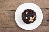 image of chocolate muffin  - Chocolate Muffin - JPG