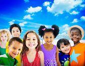 image of innocent  - Diversity Children Friendship Innocence Smiling Concept - JPG