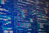 stock photo of binary code  - Programming abstract  - JPG