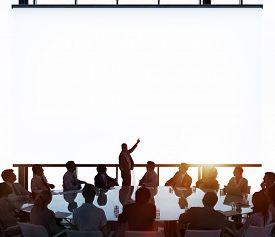 pic of seminar  - Meeting Room Business Meeting Leadership Concept - JPG