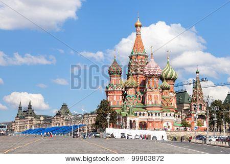 Pokrovsky Cathedral, Vasilevsky Descent In Moscow