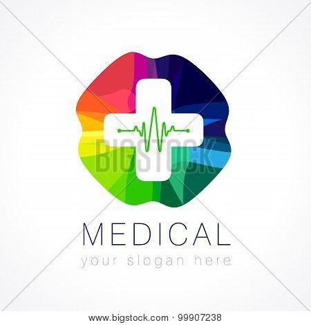 Medical color logo