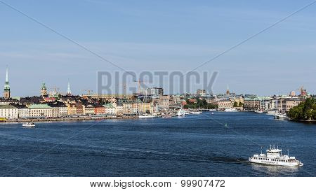 Overall view on Gamla stan