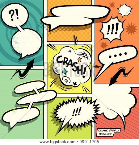 Comic Book Speech Bubbles