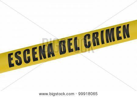 Spain Police Line