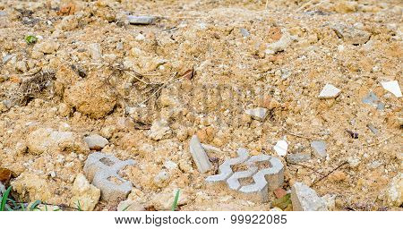 Soil Texture At Construction Site