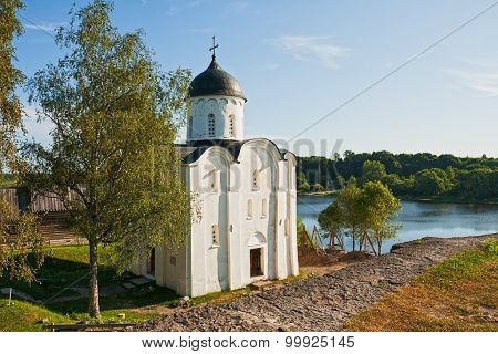 St. George's Church In The Staraya Ladoga