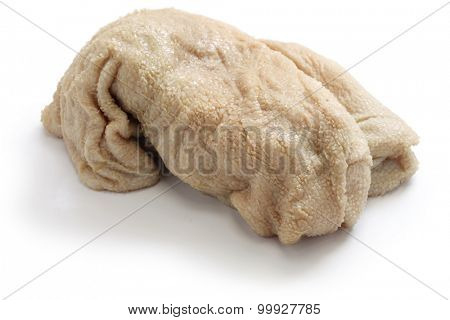 sheep tripe, haggis ingredient isolated on white background