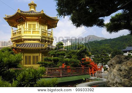 Golden Pagoda, Kowloon City, Hong Kong