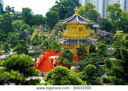 Golden Pagoda, Kowloon, Hong Kong
