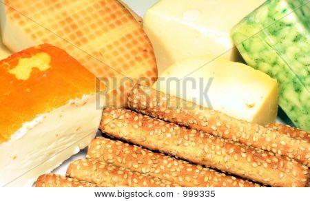 Cheese And Sesame Sticks