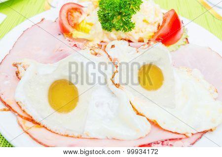 Fried Egg Face