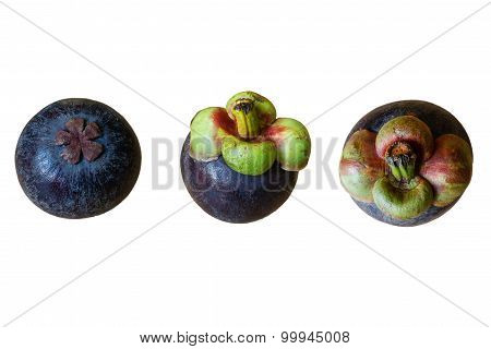 Isolated Mangosteen