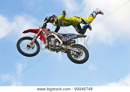 FMX stunt