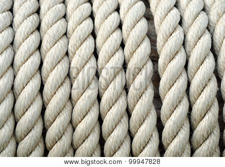 Sailing Ship Ropes Background