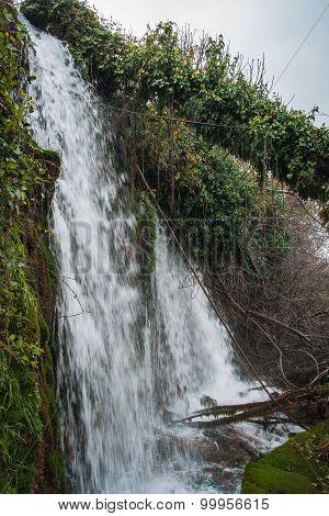 Scenic Landscape In Lousias Gorge, Peloponnese, Greece
