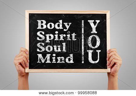You Body Spirit Soul Mind