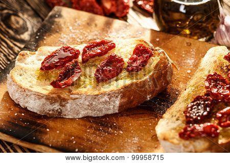 Bruschetta With Tomato