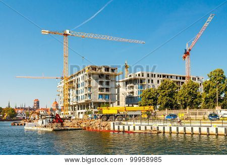 Construction Of A Residential Complex.